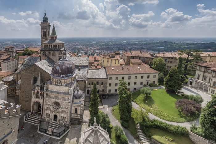 Basilica di Santa Maria Maggiore in Bergamo, Italy